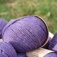 Milburn DK™ British Bluefaced Leicester/Silk in Damson; 50g ball
