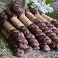 Rosedale 4ply Mini Skein in Oak (Dyelot 220420)