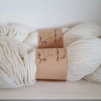 Whitfell DK 100% baby alpaca in Natural (Dyelot TWFO0802)