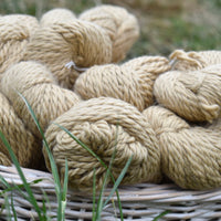 Whitfell Chunky 100% baby alpaca in Sand