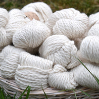 Whitfell Chunky 100% baby alpaca in Natural