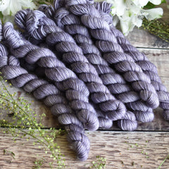 Rosedale 4ply Mini Skein in Thunder (Dyelot 220420)