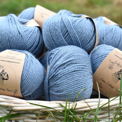 Milburn DK™ British Bluefaced Leicester/Silk in Estuary; 500g pack