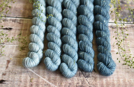 Rosedale 4ply Mini Skein Bundle - Tide Fade Set