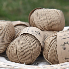 Milburn DK™ British Bluefaced Leicester/Silk in Autumn Fields; 50g ball
