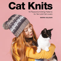Peeky Pompom Cat Hat from Cat Knits by Marna Gilligan: Yarn pack only