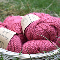 Whitfell Chunky 100% baby alpaca in Echinacea (500g pack)