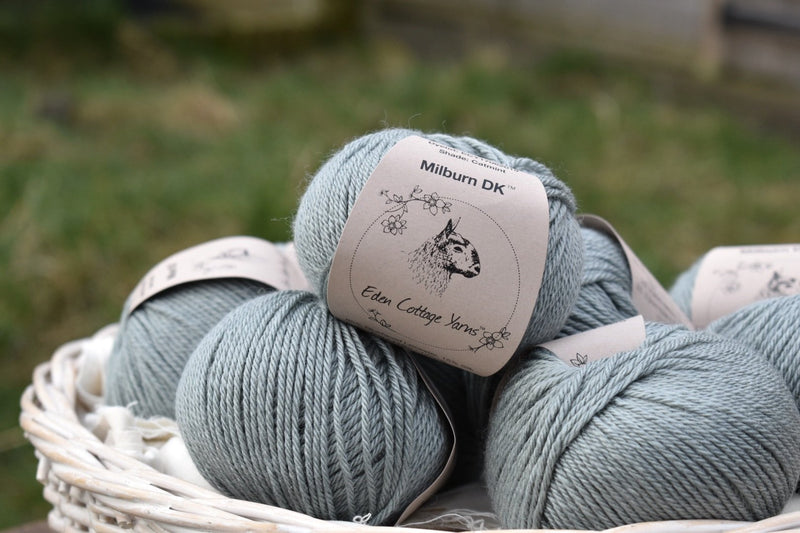 Milburn DK™ British Bluefaced Leicester/Silk in Catmint; 50g ball