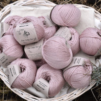 Milburn DK™ British Bluefaced Leicester/Silk in Althaea; 50g ball