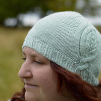 Beulah by Clare Devine: knitted hat kit