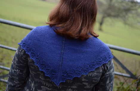 Buttermere: Shawl Kit with Milburn 4ply