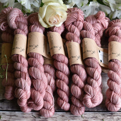 Rosedale 4ply Mini Skein in Briar Rose (Dyelot 220420)