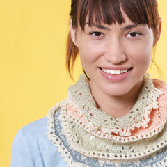 Pretty Pawsome Cat Cowl from Cat Knits by Marna Gilligan: Yarn pack only