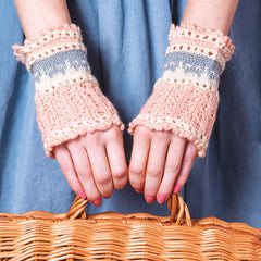 Purfect Cat Cuffs from Cat Knits by Marna Gilligan: Yarn pack only