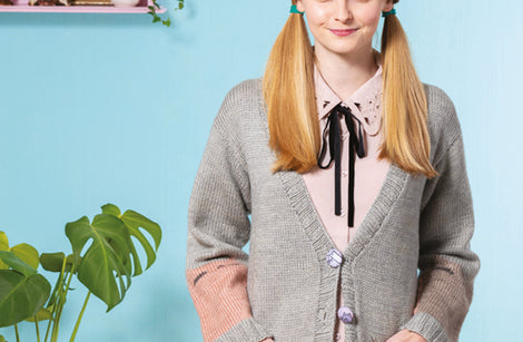 Big Cat Cardigan from Cat Knits by Marna Gilligan: Yarn pack only