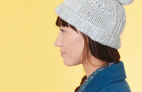 Cuddly Cat Hat from Cat Knits by Marna Gilligan: Yarn pack only