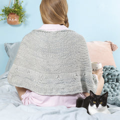 Squishy Cat Shawl from Cat Knits by Marna Gilligan: Yarn pack only