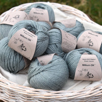 Milburn DK™ British Bluefaced Leicester/Silk in Catmint; 500g pack
