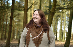 Acer: crocheted shawl kit