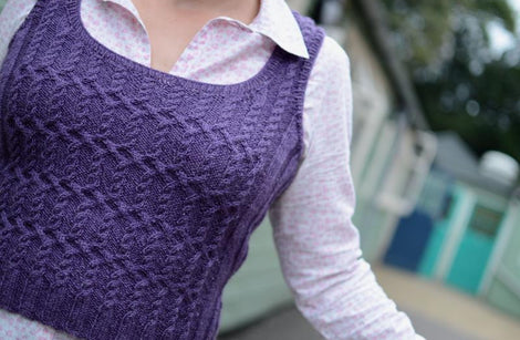 Colossus: a knitted vest/tank top kit