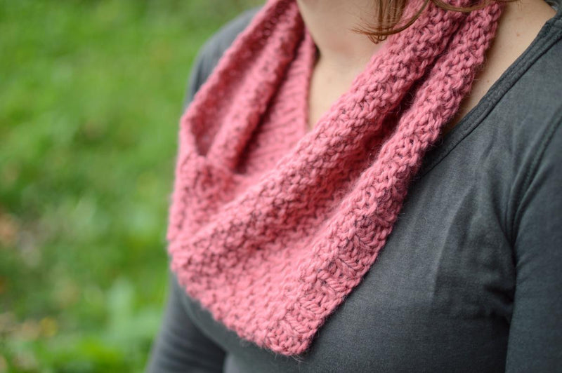 Fellsider: Chunky knitted cowl kit