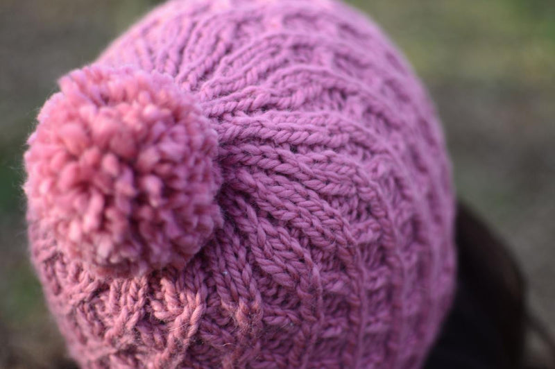 Dufton: Chunky knitted hat kit