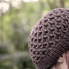 After Eight hat by Anna Elliott