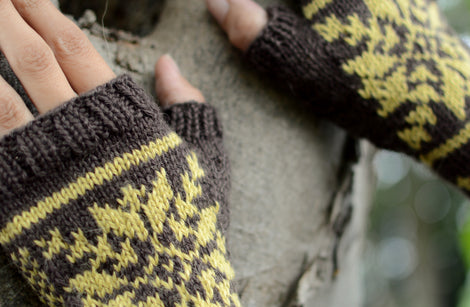 Pattern bundle: Mitts