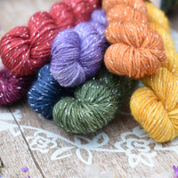 Nateby 4ply Mini Skein Bundle - Jewel Rainbow