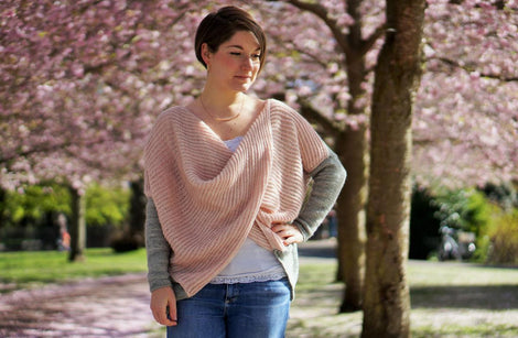 Jodi's Sweater by Kate Bostwick: A5 Printed Pattern