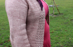 Pilkington Cardigan by Karen Burnett: A4 Printed Pattern