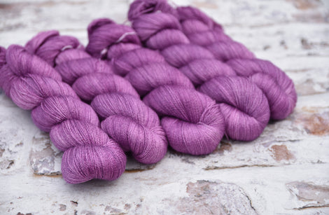Titus Lace in Buddleja (Dyelot 250717)