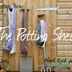 The Potting Shed Hand Dyed Yarn Club Subscription - May to July