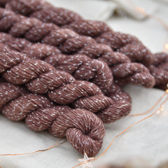 Nateby 4ply Mini Skein in Chestnut (Dyelot 061218)