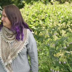 Laverton Shawl by Victoria Magnus: Digital Download
