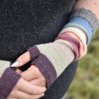 Collingham Mitts: Printed Pattern