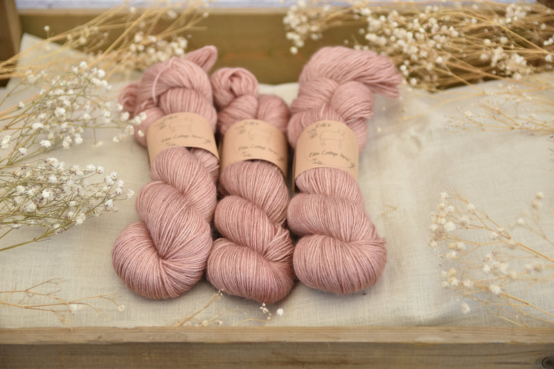 Bowland 4ply in Rambling Rose (Dyelot 230718)