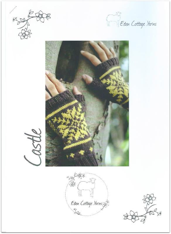 Castle Mitts: A4 Printed Pattern