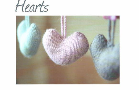 Hearts: A4 Printed Pattern
