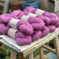 Purple yarn