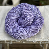 Pale purple yarn