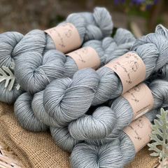 Blue-grey yarn