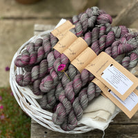 Brimham High Twist Mini Skein in Heathered Crags (Dyelot 280420)