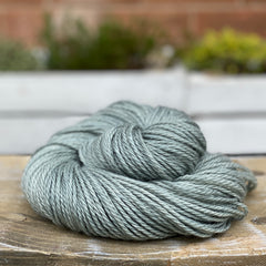 Greenish-grey yarn