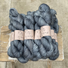 Dark blue yarn