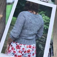 Alyssium Cardigan by Joanne Scrace: A5 Printed Pattern