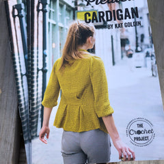 Pleated Cardigan by Kat Goldin: A5 Printed Pattern