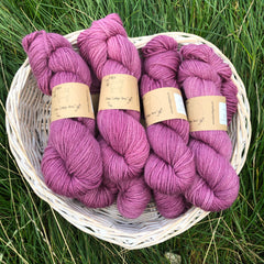 Bowland Aran in Clematis (dyelot 171117)
