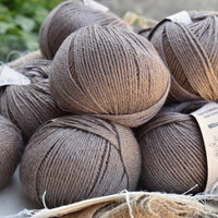 Milburn DK™ British Bluefaced Leicester/Silk in Compost; 500g pack