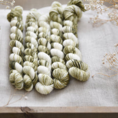 Carlisle Fingering Mini Skein in Dappled Woodland